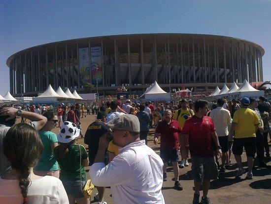 Brasilia Imperial Hotel e Eventos : Estadio Nacional.