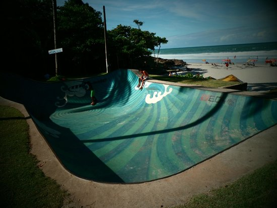 Praia da Tiririca: Skate