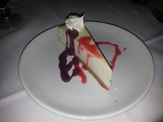 SunQuest Cruises : The Cheesecake was delightful.