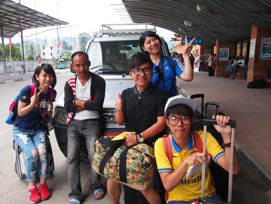 Ambassador Chauni Apartment-Hotel: 機場接送服務,有禮的司機(接送服務需付款)