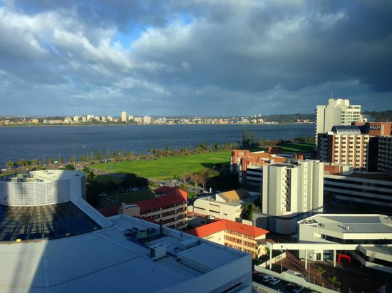 Fraser Suites Perth : Room view from 1407