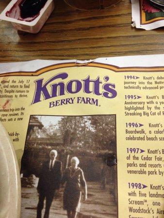 Mrs. Knott's Chicken Dinner Restaurant : Knotts
