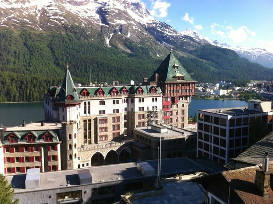 Hotel Eden Garni St. Moritz: View from room
