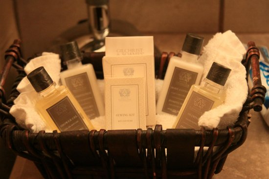 L'Auberge de Sedona : toiletries