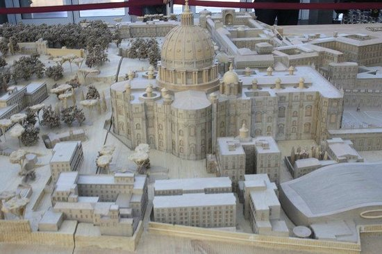 Vatican Guided Tours: A miniature representation of the Vatican City