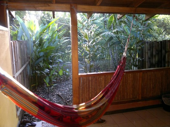 Exotica Lodge: The hammock was really comfortable :)