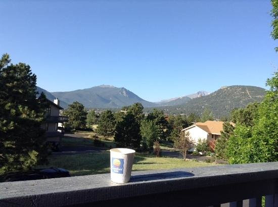 Quality Inn Estes Park : first day in colorado
