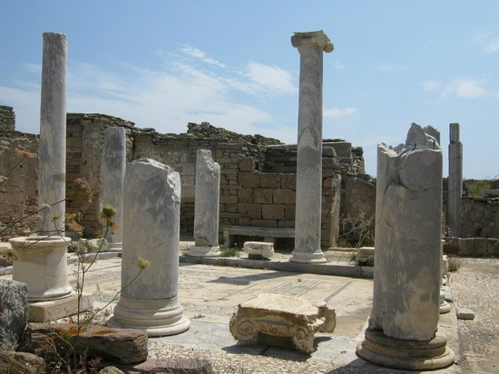 Archaeological Site of Delos: Lake House