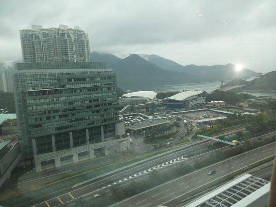 Novotel Citygate Hong Kong: pemandangan dari kamar