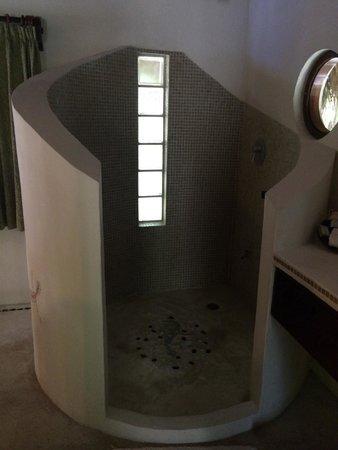 La Zebra Colibri Boutique Hotel : Open Shower
