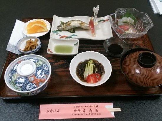 Iwasu-so: ランチ1700円 税別