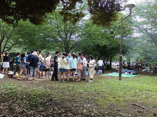 Wadabori Park: バーベキュウ