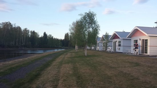 Fairbanks Princess Riverside Lodge: Cottages