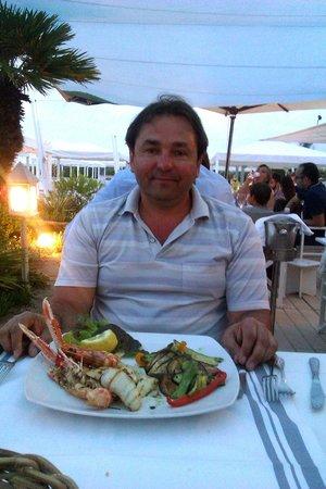 Hotel Storyville: Второе блюдо в ресторане GILDA