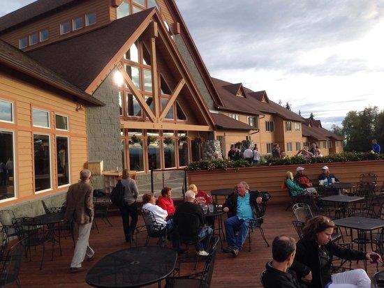 Foraker Restaurant: Hotel Deck