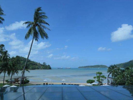 Phuket Panwa Beachfront Resort : วิวทะเลของโรงแรม