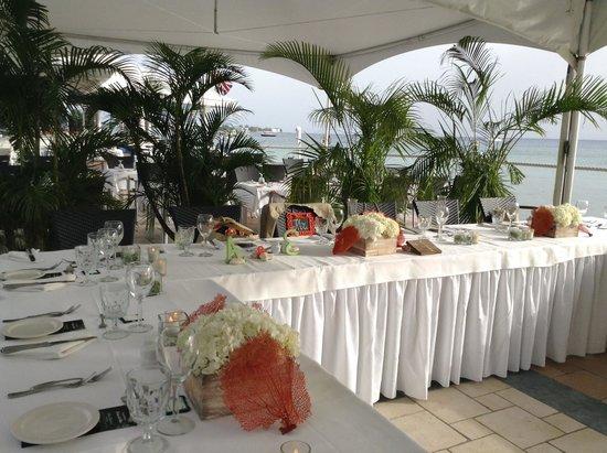 The Wharf : Our wedding reception