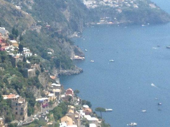 Ristorante da Costantino: Amazing views from the restaurant window