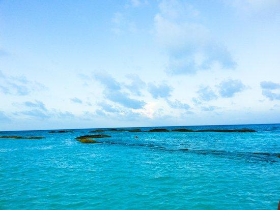 El Dorado Casitas Royale, by Karisma: beach behind jo-jos