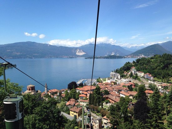 Funivie del Lago Maggiore: On our way up...