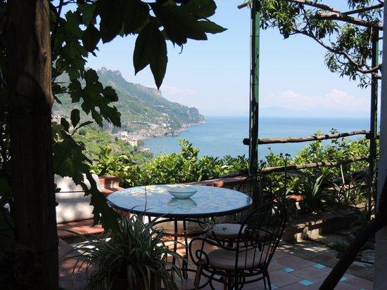 Orto Paradiso: Blick von der Terrasse