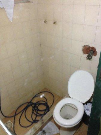 Hotel Ingles: Horror de baño de recepción