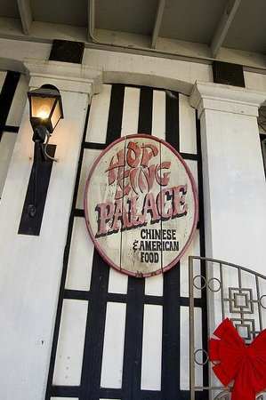 Hop Sing Palace: Entrance Sign