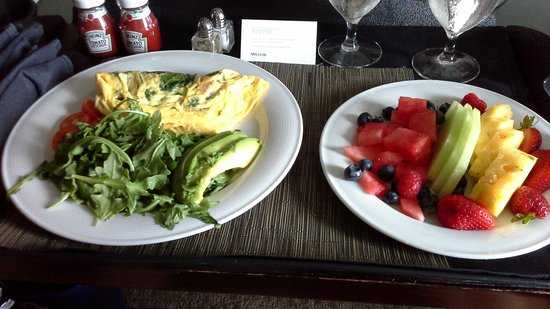 The Westin Bellevue: Healthy Options Room Service
