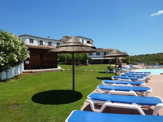Alessandro Hotel : widok z basenu