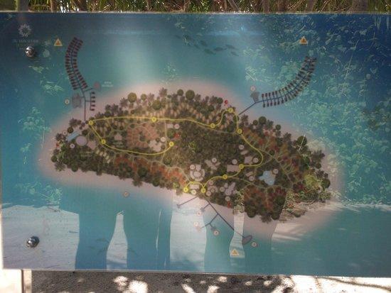 The Sun Siyam Iru Fushi Maldives: Mappa isola