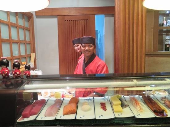 The Hashi : staff at the restaurant