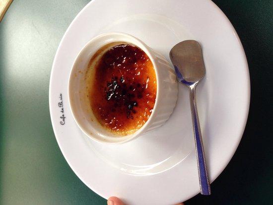 Bistrot Cafe de Paris : Amazing creme brûlée
