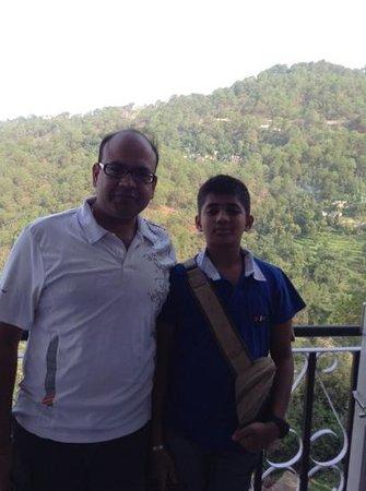 Hotel Pine Valley & Restaurant: the view
