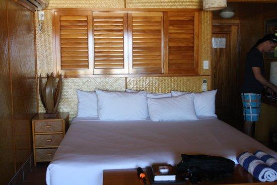 Sanctuary Rarotonga-on the beach: Bedroom