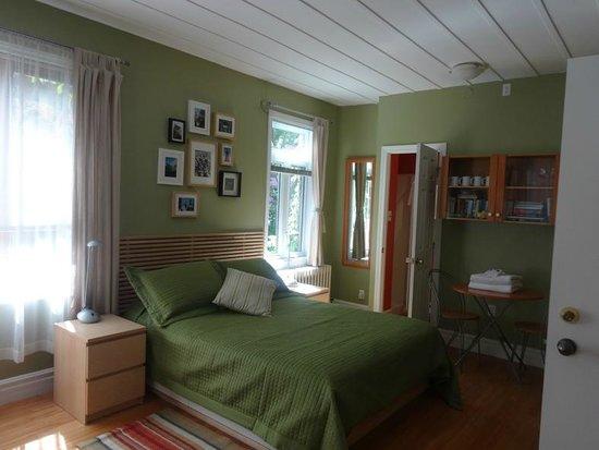 Acacias Bed & Breakfast : Blick in unser Zimmer