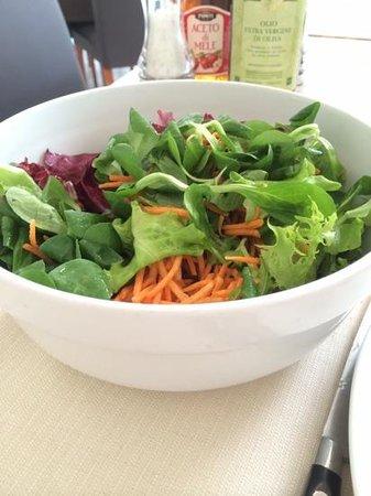 Trattoria Dal Gal: insalata mista