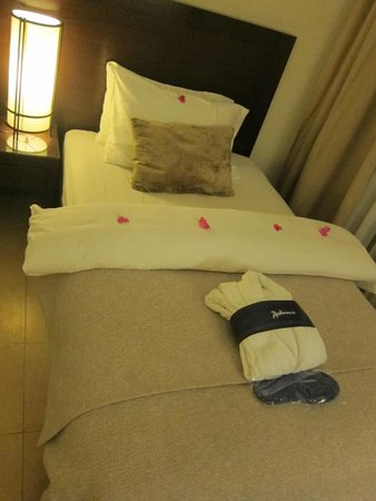 Grand Swiss-Belresort Tala Bay, Aqaba: Such a comfortable bed