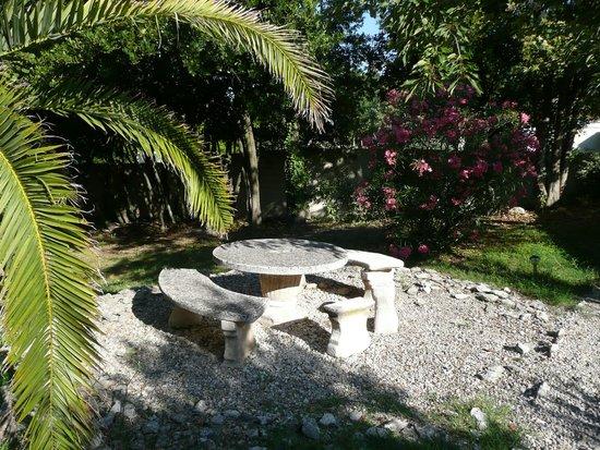 Hotel l'Amandiere : Le jardin