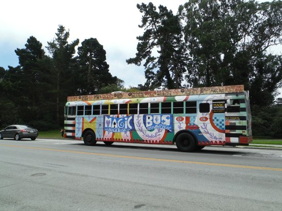 The Magic Bus: The mode of transportation for hippies!