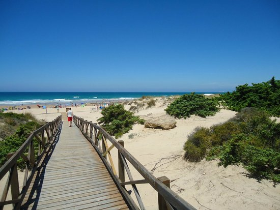 Iberostar Andalucia Playa: Acceso a la playa directo