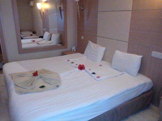 Ersan Resort & Spa: room arrangement