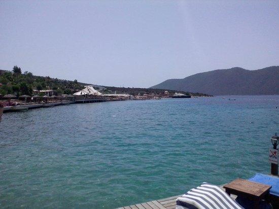 Ersan Resort & Spa: from the deck