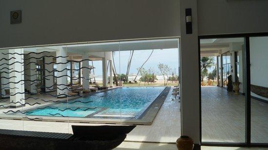 Shinagawa Beach by Asia Leisure: The pool, half inside half outside. Great when it rains
