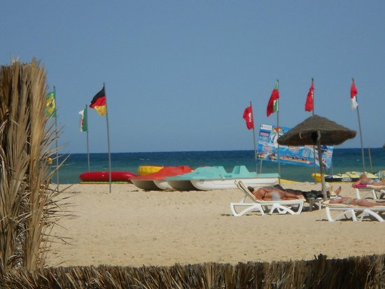 Hotel Palace Hammamet Marhaba : plaża