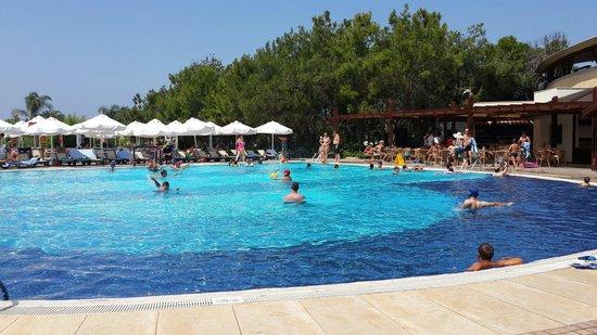 Sueno Hotels Beach Side: Aktivite havuzunda su topu