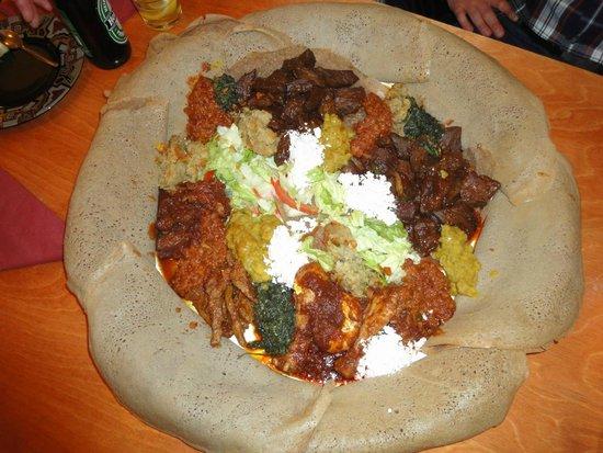 Semhar: The Beyaynnatou dish... the best !