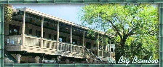 Big Bamboo Cafe : Upstairs Outdoor Dining