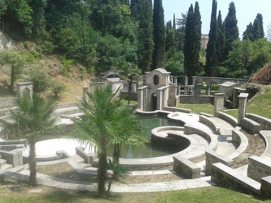 Il Vittoriale degli Italiani: Il parco
