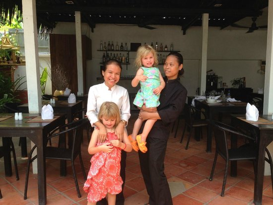The Villa Siem Reap: wonderful staff