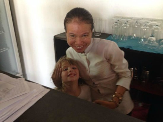 The Villa Siem Reap : Pheap and our daughter